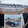 Start Your Engines: Automotive Artist James Caldwell Goes Old-School at the Concours d'Elegance