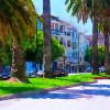 """San Francisco Street Scene,"" Richard Noble"