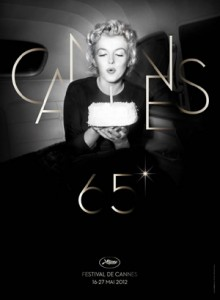 The official poster of the 65th annual Cannes Film Festival. Design ★ Bronx (Paris). DR. Photo © Bettmann/Corbis.