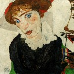 Egon Schiele's Portrait of Wally (1912). Courtesy of The Leopold Museum