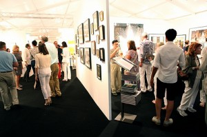 A sample of the excitement at last year's artMRKT Hamptons