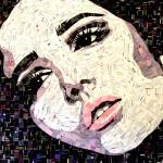 """""""Tosca,"""" 24x30"""", by Sandhi Schimmel Gold"""