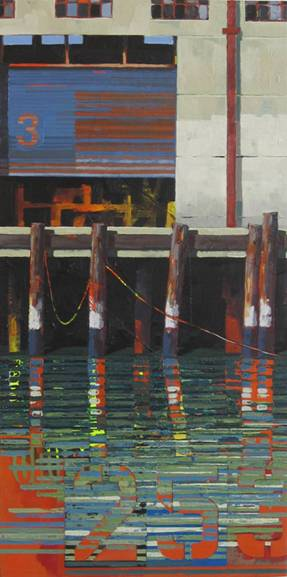 Catherine Mackey's Pier Module #16, one of the 140-plus works to be auctioned off at Art for AIDS on September 14th.