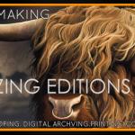 Blazing Editions Ad Mockup