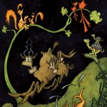 Dr. Seuss' After Dark in the Park, part of Ocean Galleries' The Art of Doctor Seuss & Disney exhibition. Copyright The Art of Dr. Seuss.