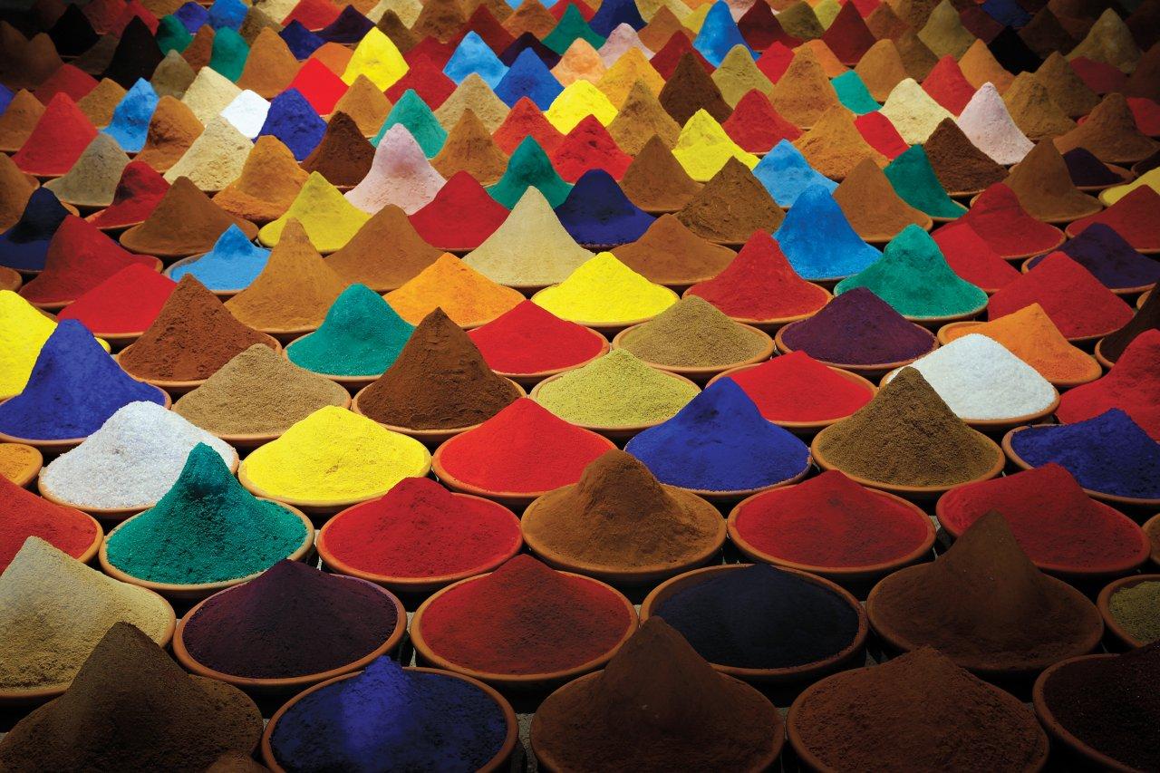 Campo de Color by Bolivian artist Sonia Falcone. Stefano Rellandini/Reuters.