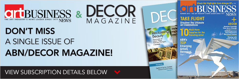 ABN/DECOR Magazine - Subscribe Today