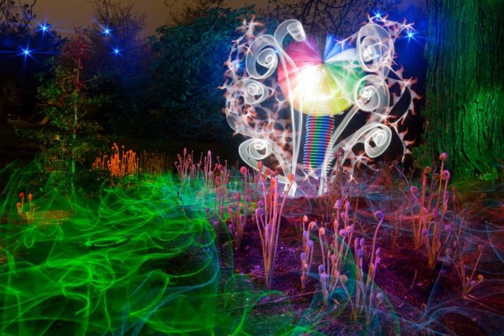 Tacky Light Garden
