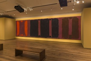 """Panel Two"" and ""Panel Three,"" Mark Rothko"