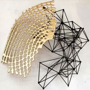One of Melanie Blood's sculptures