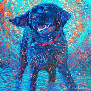 """Canines and Color,"" Iris Scott"