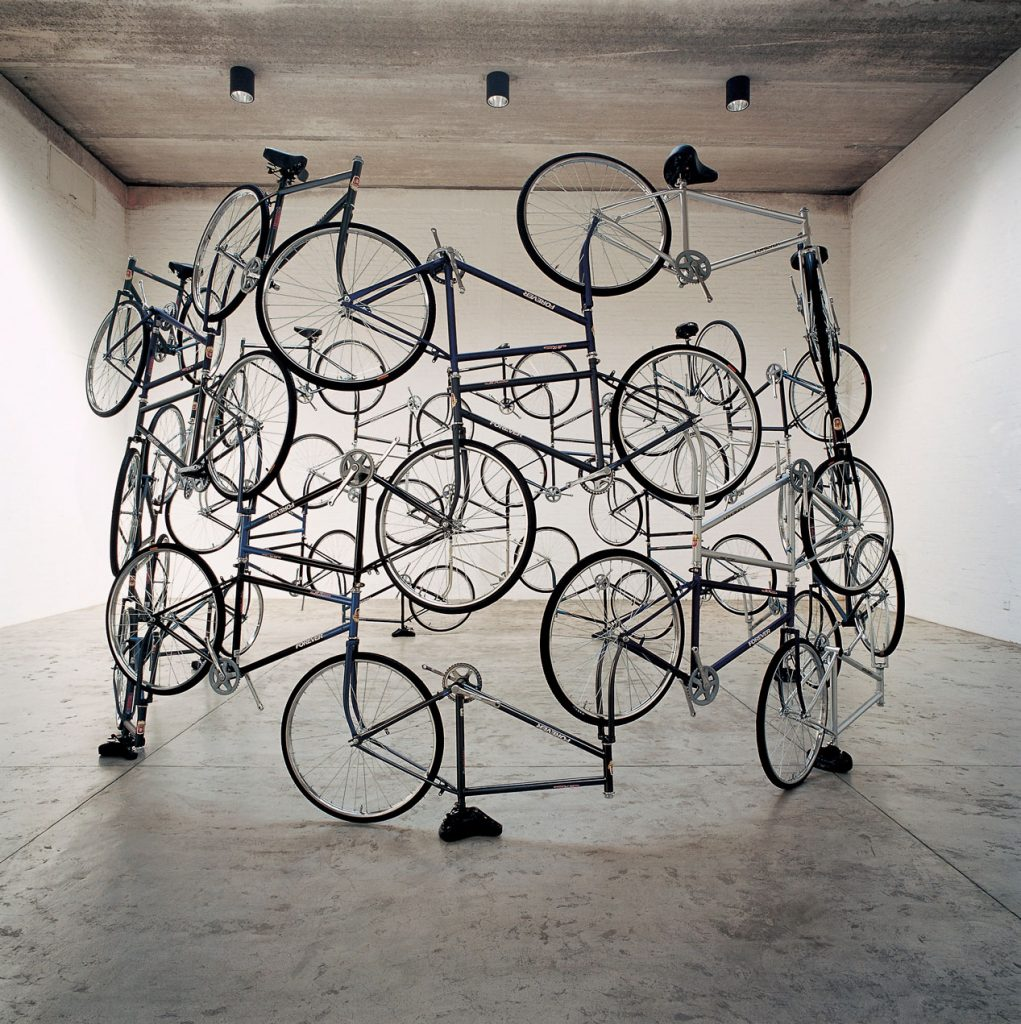"""Forever Bicycles,"" Ai Weiwei"