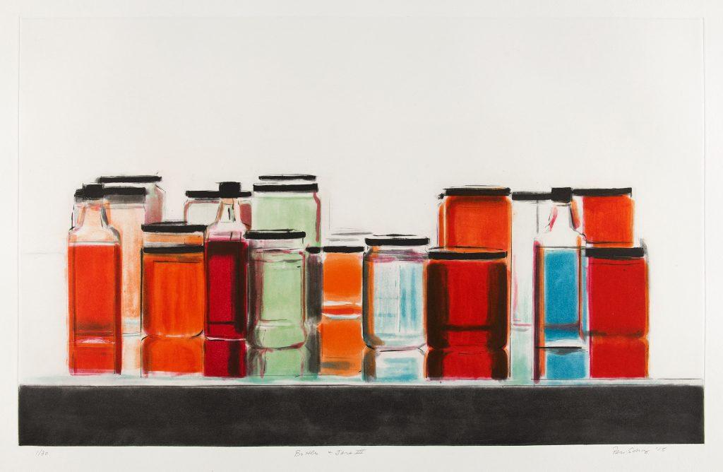 Bottles & Jars III - Peri Schwartz