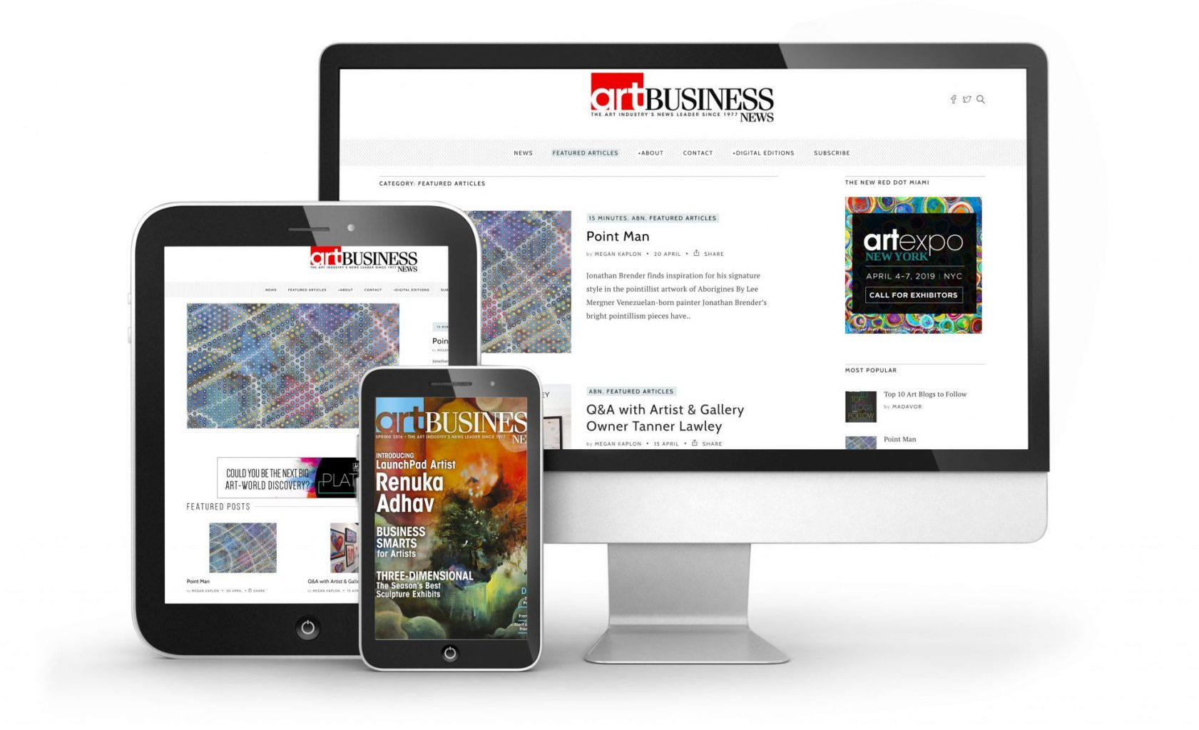 Advertise Online with Art Business News
