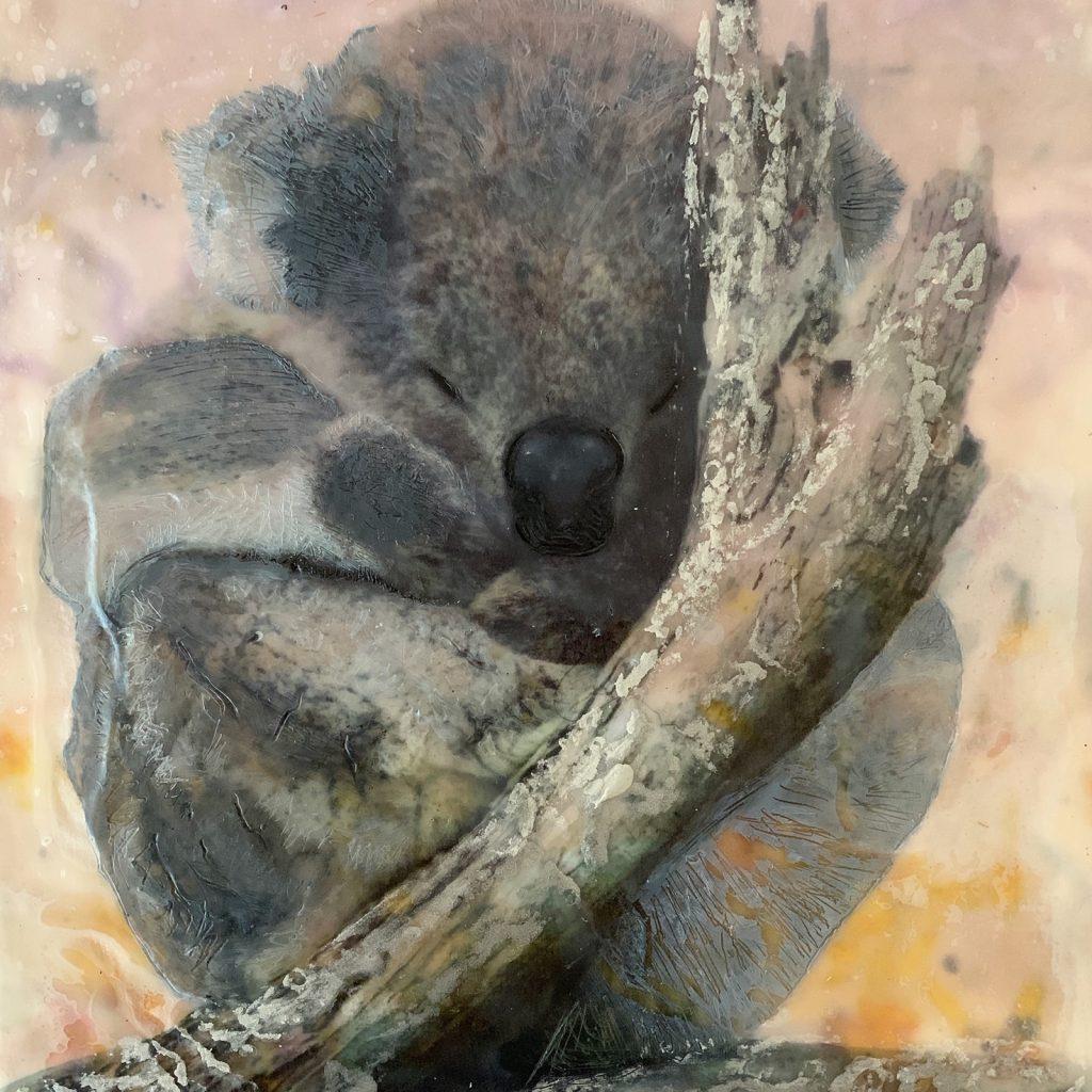 Ogilvie-White-Tanya_Koala-Dreaming-Extinction-Series_2020_3000