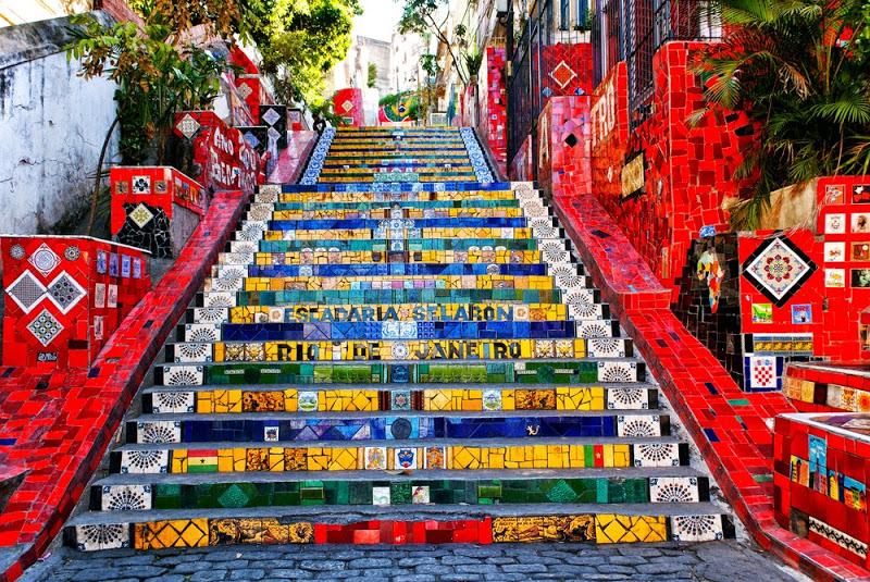 Selaron Staircase Rio de Janeiro, Brazil