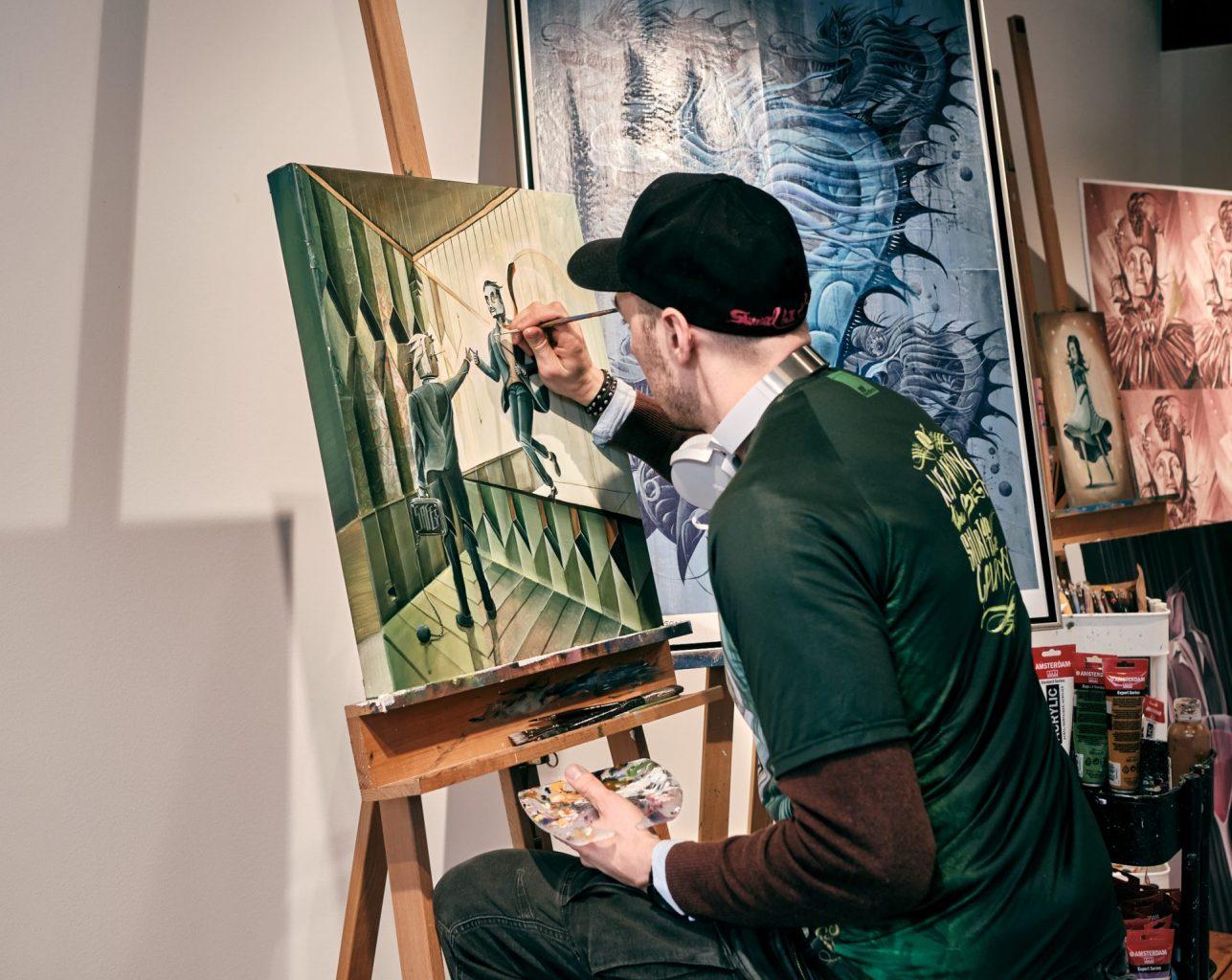 Tom Lohner Painting