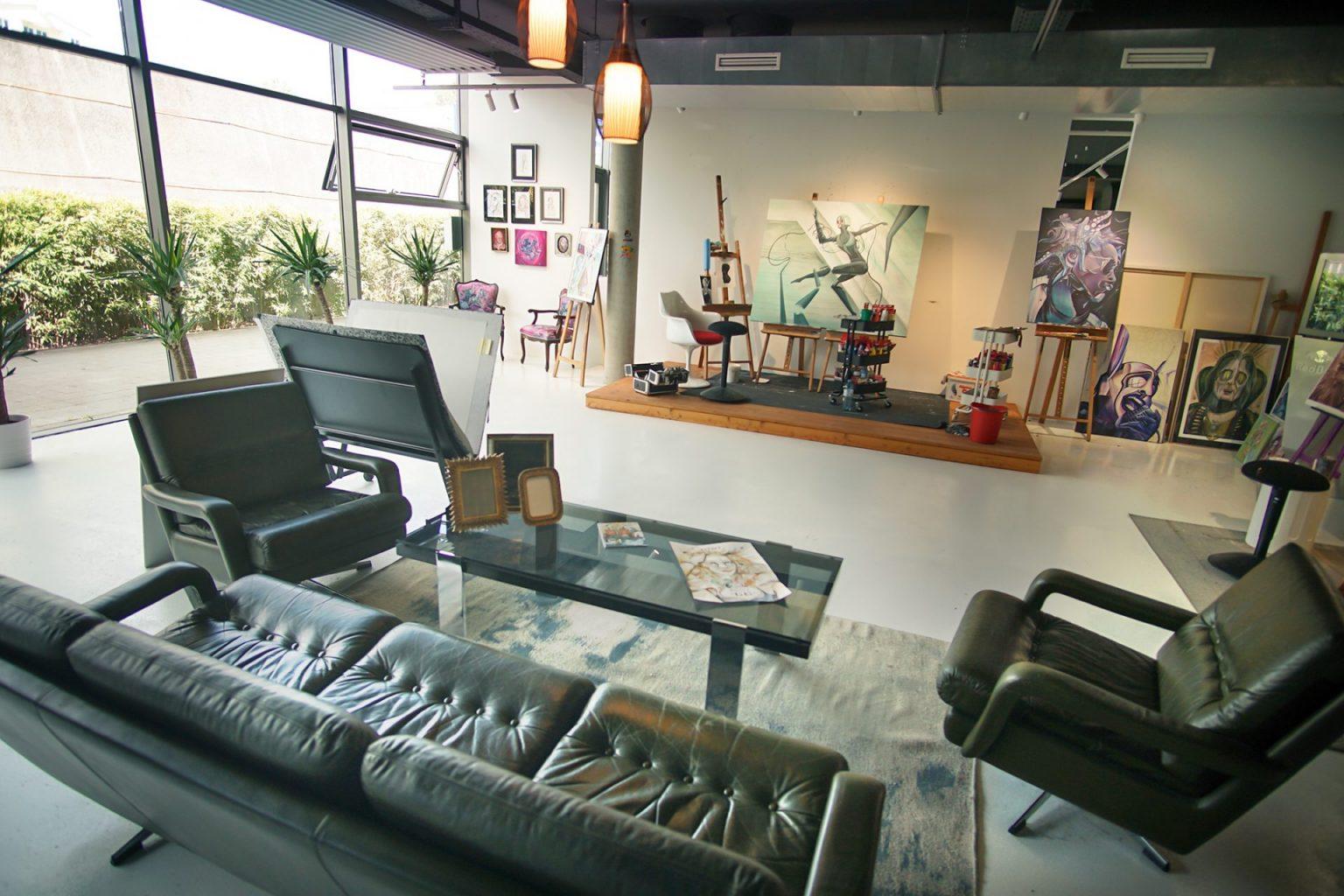 Tom Lohner Art Studio