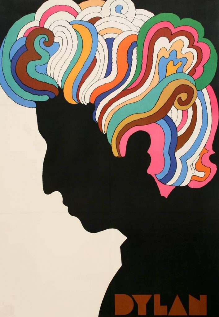 Dylan by Milton Glaser, 1966
